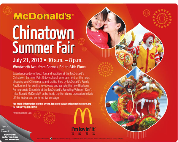 Chinatown Summer Fair